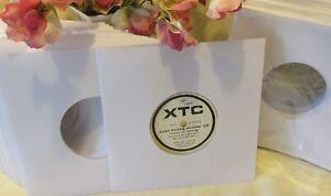 "Vinyl Record Sleeves -7"" White Paper (300)"