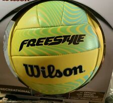 PRICE DROP!Wilson Volleyball Official Size/Weight Recreational Freestyle Bright
