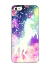 Unicorn phone case sparkle design cute case for iphone 4 5s 6 7 8 X samsung HTC