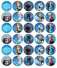 Frozen Disney Cupcake Toppers Edible Wafer Paper BUY 2 GET 3RD FREE!