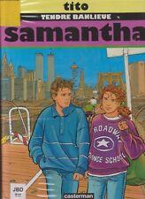 BD TITO TENDRE BANLIEUE T5 SAMANTHA EDITION 1996 CASTERMAN PORT PRIX COÛTANT