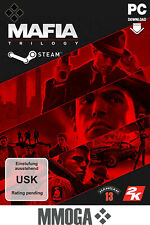 Mafia: Trilogy - PC Game Digital Code - Steam Download Code Action USK18 - DE/EU