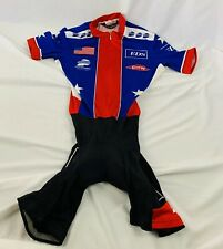 USA Cycling Official National Team Cycling Skinsuit Short Sleeve Size XS
