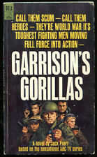 GARRISON'S GORILLAS Jacl Pearl TV Tie In Photo Cover First Printing Dell 2798