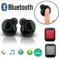 S7 Wireless Bluetooth TWS Headphone Earbuds Sport Headset Bass Stereo Earphone E