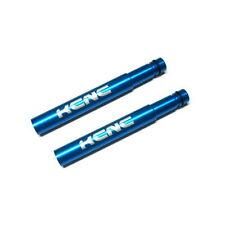 Gobike88 Kcnc presta válvula extensión, 50mm, Azul, C86