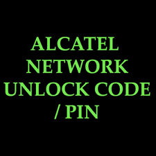 Alcatel OT 990 Vodafone  UNLOCK CODE  NETWORK UNLOCK CODE / PIN