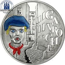 """France 1,5 euro 2002 de Victor Hugo """"Les Misérables"""" les misérables Gavroche"""