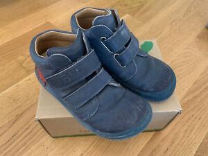Filii Schuhe, Größe 26, blau mit rotem Stern, guter Zustand