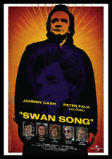 Columbo Johnny Cash Swan Song Repro Advertising POSTER