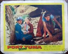 1954 FORT YUMA Peter Graves-Joan Vohs-J.Hudson-Joan Taylor-fotobusta- cm.36x28