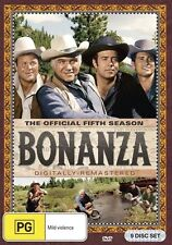 Bonanza Season 5 NEW R4 DVD