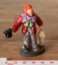 VINTAGE Wen-al INFRANGIBILE Toys-MR Grock CLOWN CON OMBRELLO & Top Hat
