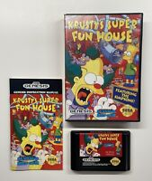 Krusty's Super Fun House (Sega Genesis, 1994) COMPLETE!!