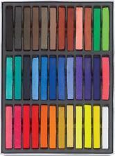 Kit de belleza de tiza Pastel 36 pelo temporal no tóxico - Color de la mezcla