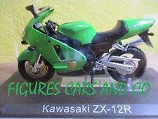 MOTO 1/24 KAWASAKI ZX 12R   COLLECTION GM MOTORRAD MOTORCYCLE