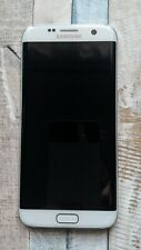 Samsung Galaxy S7 Edge WHITE Lcd Display Touch Screen Digitizer Frame Cover