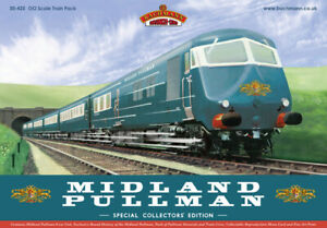 Bachmann 30-425 - Class 251 6 Car Midland Pullman Train Pack Nanking Blue Livery