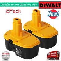2PCS 18 VOLT XRP NiCd Extended Battery For DeWALT DC9096-2 DW9095 DE9095 Tools