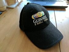 GUINNESS BEER MEMORABILIA PROMOTIONAL 9 BALL TOUR OFFICIAL CAP BRAND NEW