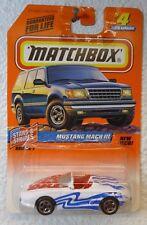 1998 MATCHBOX - MUSTANG MACH III #4 - STARS & STRIPES SERIES 1