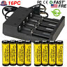 14500 AA 3.7V 1200mAh Li-ion Lithium Rechargeable Battery Intelligent Charger