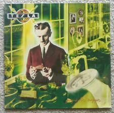 TESLA - PSYCHOTIC SUPPER VINYL LP SEALED 1st GERMAN PRESS 1991 ORIG VERY RARE