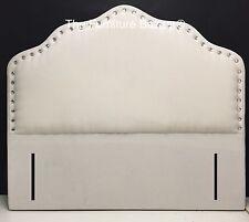 The Pelle Upholstered Headboard Chenille 3ft Single 4ft6 Double 5ft Kingsize 6ft Super King