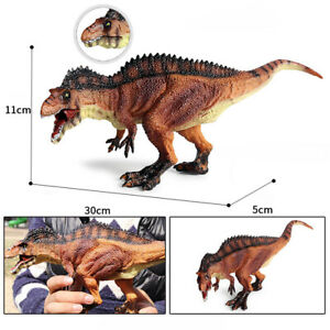 Acrocanthosaurus Figure Dinosaur Toy Animal Collector Carcharodontosauridae Gift