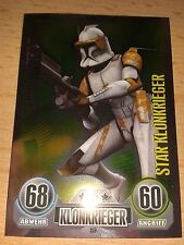 Force Attax Star Wars Serie 1 Star-Karte Nr.159 Commander Cody Klon Sammelkarte