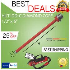 Hilti Diamond Core Bit Dd C 12 X 6 T4 New Strong Fast Shipping