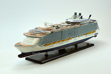 "MS Oasis of the Seas Oasis-class Wooden Cruise Ship Model 40.5"" Scale 1:350"