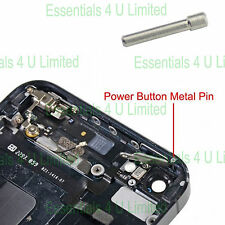 Metal Power Lock Button Housing Pin Rod For Apple iPhone 5S