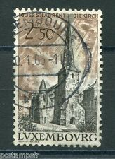 LUXEMBOURG, 1962, timbre 611, EGLISE SAINT LAURENT, oblitéré, VF used stamp