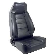 1976-1986 CJ-7 1987-2006 Wrangler Replacement Seat w/ Recliner 45001 Black Vinyl