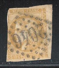 uaq32 France 1849 Sc#12a Scv$270.00