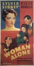 SABOTAGE Movie POSTER 20x40 Oscar Homolka Sylvia Sidney John Loder Desmond