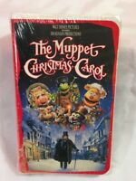 Disney JIM HENSON The Muppet Christmas Carol VIDEO VHS 1993 Clamshell NEW SEALED