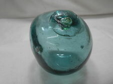 "Vintage Glass Fishing Float Foreign Object Squashed Mark #242 Japanese 2.75""#430"