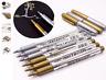 BKC Metallic Permanent Marker Pens Gold & Silver Craft Paper Card Gift Arts