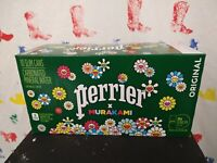 Takashi Murakami Perrier Cans Case Unopened Brand New