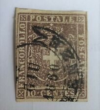 Tuscany (state now in Italy) 1860 10c used