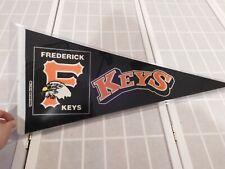 Vintage 1993 Fredrick Keys Felt Pennant MiLB