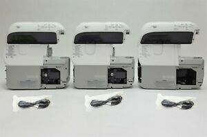 Epson PowerLite 485W 3LCD WXGA UST Short Throw 3100 Lm HDMI Projector Lot 3