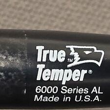 "True Temper Flat Handlebar 6000 Series AL 25.4 x 560 or 22"" Black 22.2 Ends Trek"