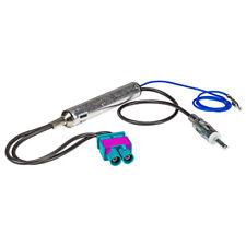 Für Audi Seat Skoda VW Antennenadapter DIN mit Phantomeinspeisung Doppel Fakra