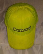 CARHATT LIME GREEN BASEBALL HAT/CAP