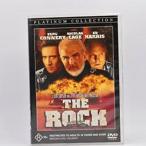 The Rock Nicolas Cage, Ed Harris, Sean Connery (DVD, 2001) R4 GC