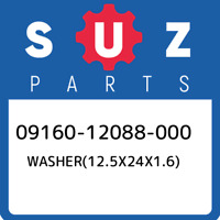 09160-12088-000 Suzuki Washer(12.5x24x1.6) 0916012088000, New Genuine OEM Part