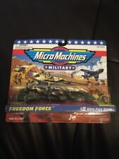 Micro Machines Freedom Force #8 Nitro Fury troops military set